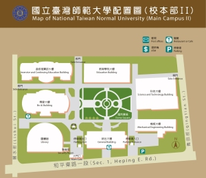 NTNU-Library-Campus-Map