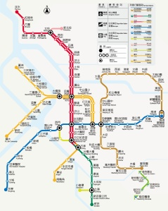 Taipei-MRT-Route-Map